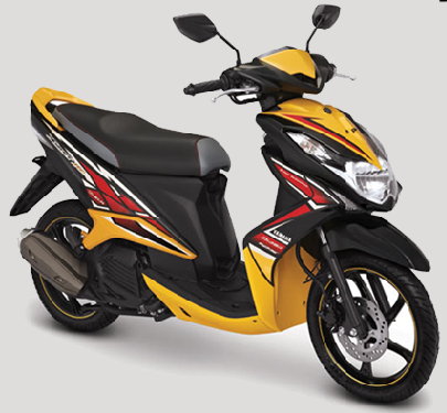 Yamaha New striping baru