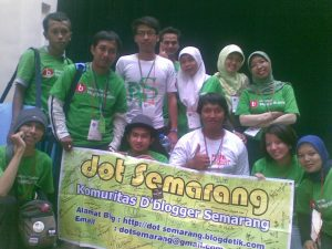 DBlogger dan Dot S di even Pesta Blogger 2010
