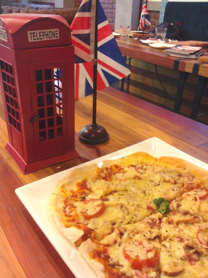 Pizza Stilrod British