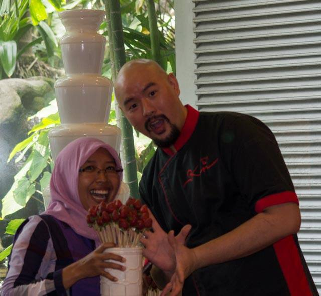 Me and Chef Ken Masterchef Indonesia ^^