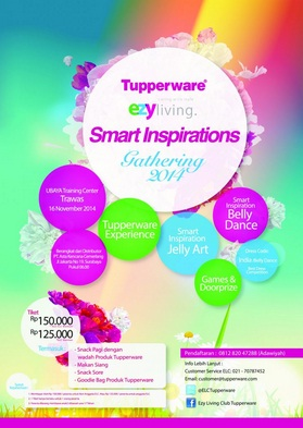 Tupperware Ezy Living Gathering 2014