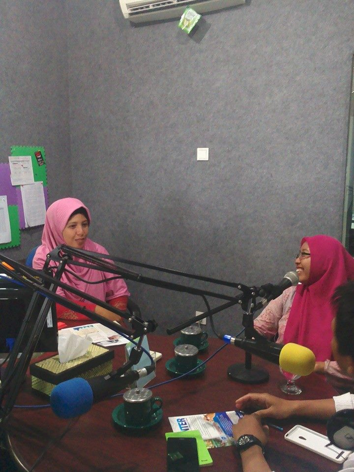 On Air Media di radio Suara Muslim Surabaya