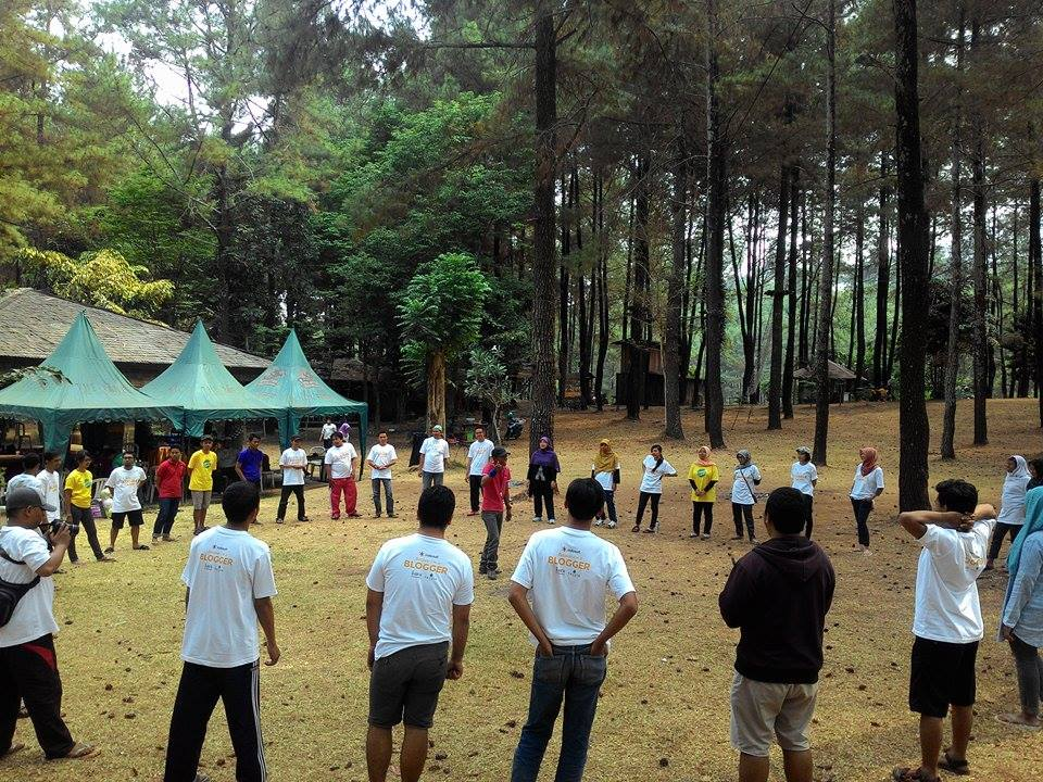 Fun Games di sambung Flying Fox. Seruuu..!