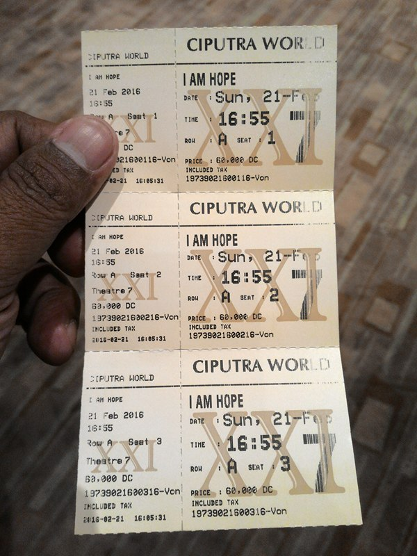 Nobar film I am Hope