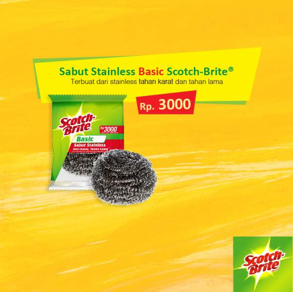 Scotch-Brite Steinless