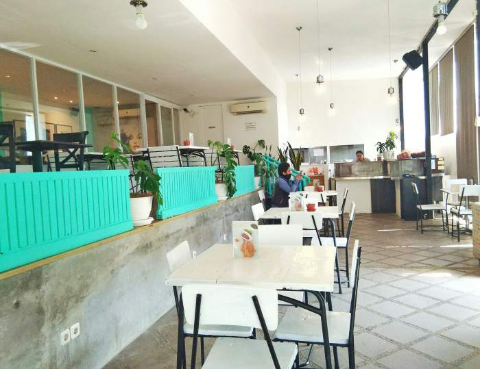Interior Localist Cafe