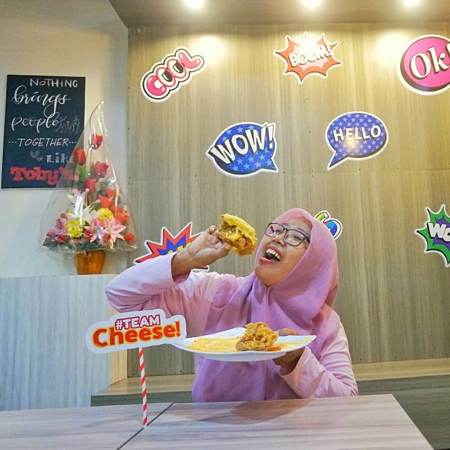 Say Cheese menu baru Toby's
