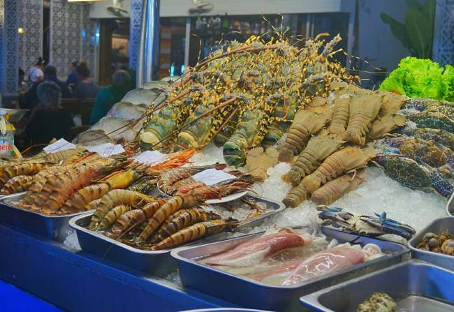 Seafood Hua Hin Night Market
