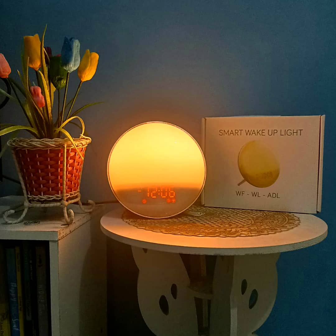 Lampu Tidur Bardi Smart Wake Up Light